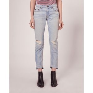 Rag & Bone Dre Capri Jeans Norton Distressed